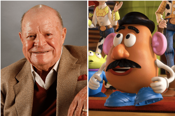 Don Rickles as Mr Potato Head in Toy Story 4