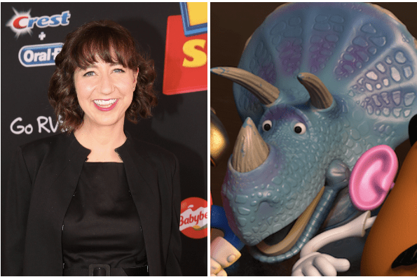 Kristen Schaal as Trixie in Toy Story 4
