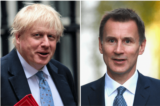 Boris Johnson, Jeremy Hunt