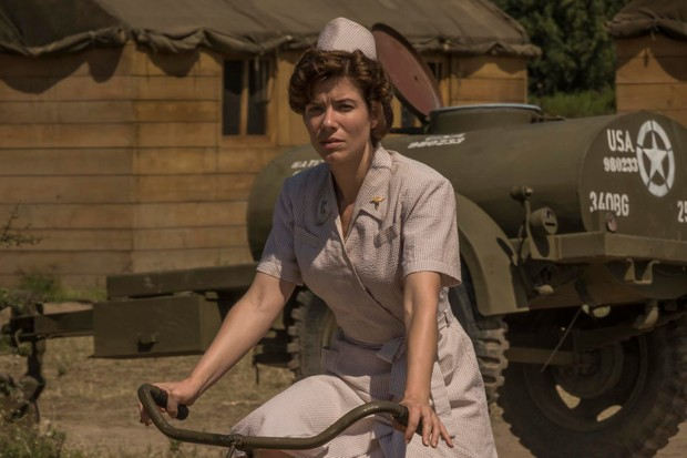 Tessa Ferrer plays Nurse Duckett in Catch-22