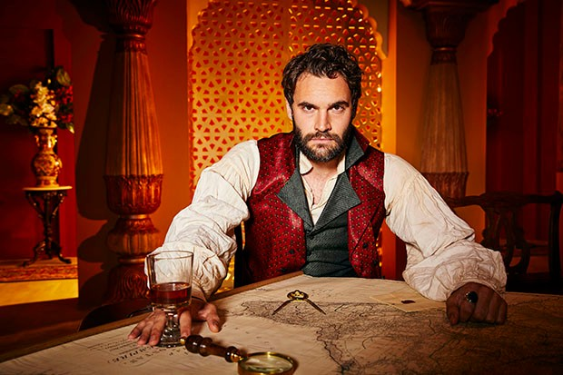 Tom Bateman plays John Beecham in Beecham House