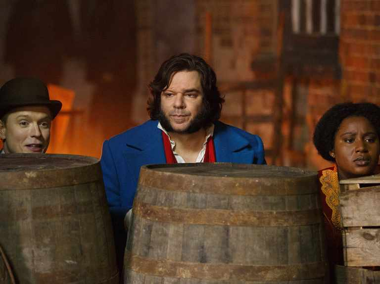 Matt Berry's Victorian cop comedy Year of the Rabbit is a strange but funny beast