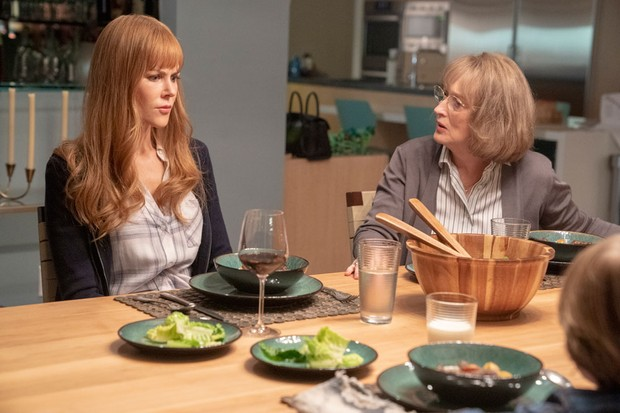 Nicole Kidman and Meryl Streep in Big Little Lies season two