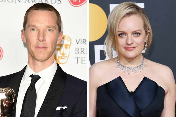 Benedict Cumberbatch and Elisabeth Moss (Getty Images)