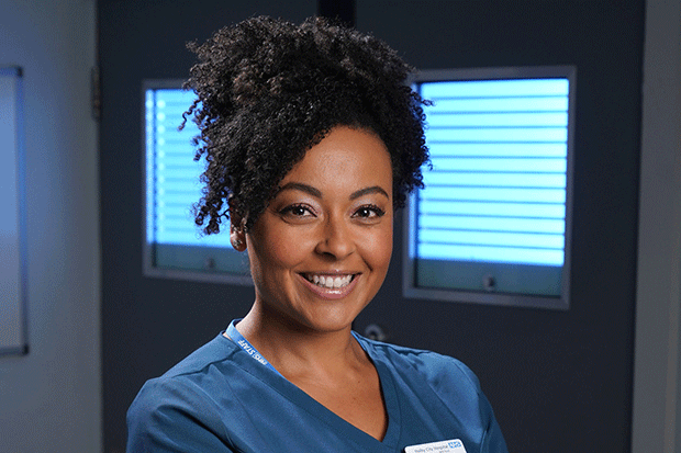 Donna Jackson in Holby City, BBC Pictures