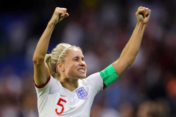 Steph Houghton of England