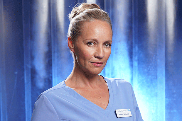 Essie de Lucca in Holby City, BBC Pictures
