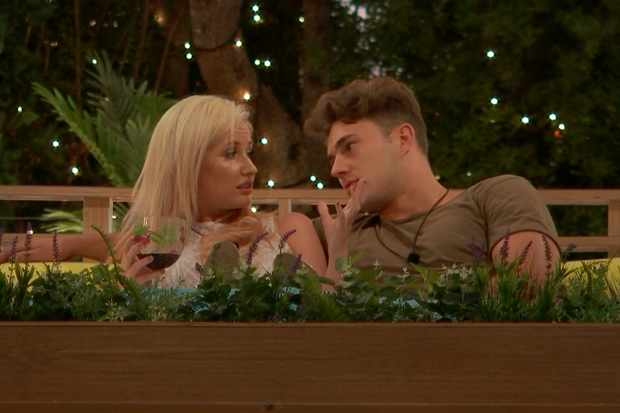 Amy and Curtis Love Island ©ITV
