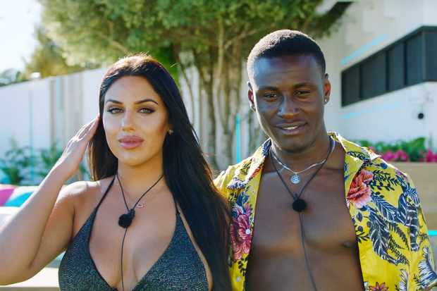 ©Anna and Sherif Love Island ITV