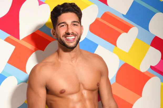 Love Island Marvin Brooks (ITV)