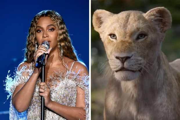 Beyoncé Knowles-Carter plays Nala
