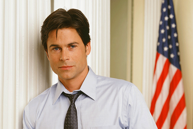 Rob Lowe in the West Wing, Getty