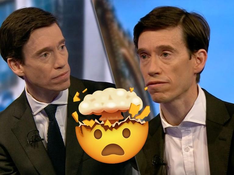 Viewers mystified by Rory Stewart's disappearing tie in BBC Tory leadership debate