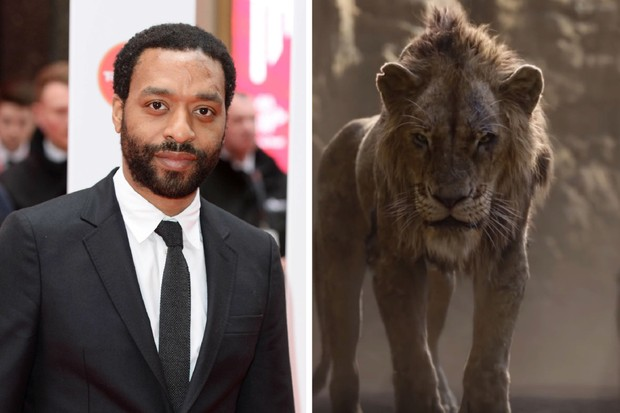 Chiwetel Ejiofor plays Scar