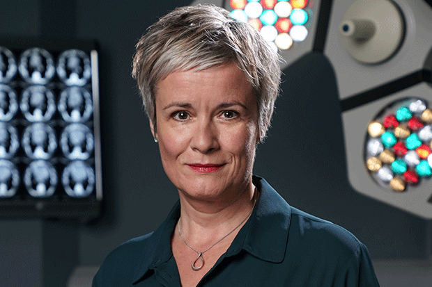 Serena Campbell in Holby City, BBC Pictures