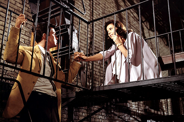 Natalie Wood and Richard Beymer in West Side Story, Getty