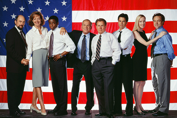 The West Wing cast, Getty