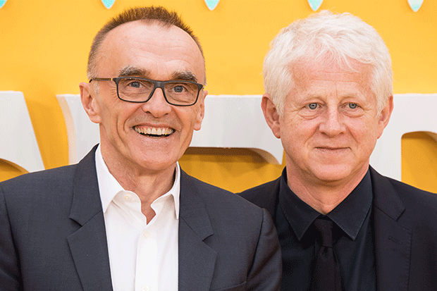 Danny Boyle and Richard Curtis at the Yesterday premiere, Getty