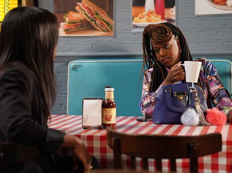 EastEnders denies that Tameka Empson is quitting Kim Fox role