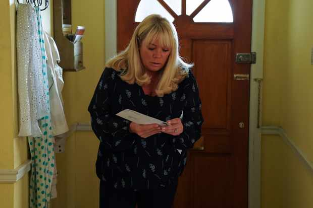 eastenders sharon mitchell gets DNA results