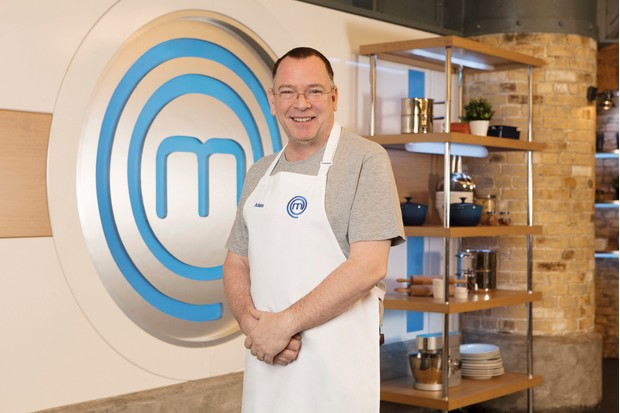 Adam Woodyatt Masterchef (BBC)