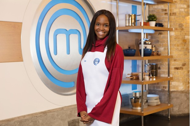 Programme Name: Celebrity Masterchef - TX: n/a - Episode: n/a (No. Press Release ) - Picture Shows: Oti Mabuse - (C) Shine TV - Photographer: Production