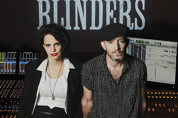 Anna Calvi and Peaky Blinders director Anthony Byrne