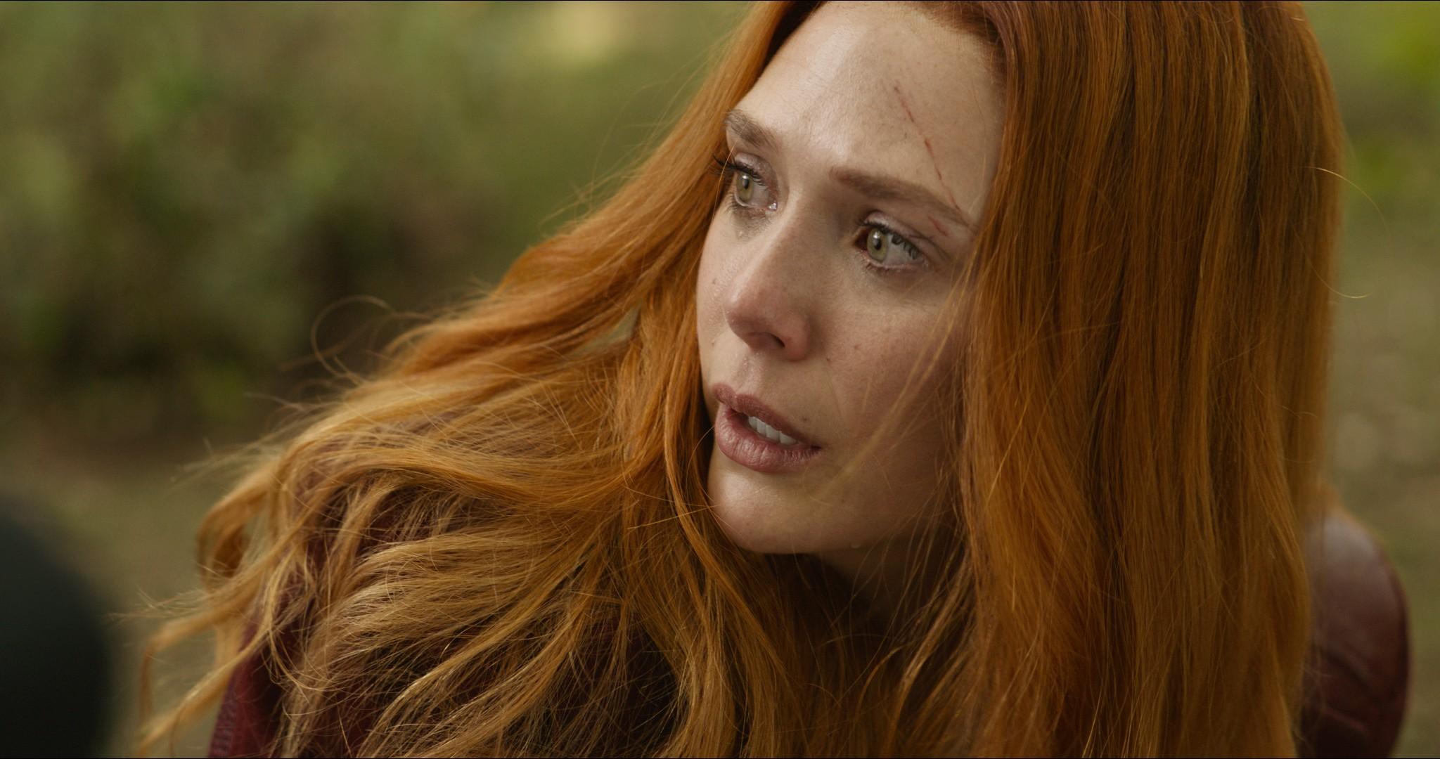 Scarlet Witch/Wanda Maximoff (Elizabeth Olsen)