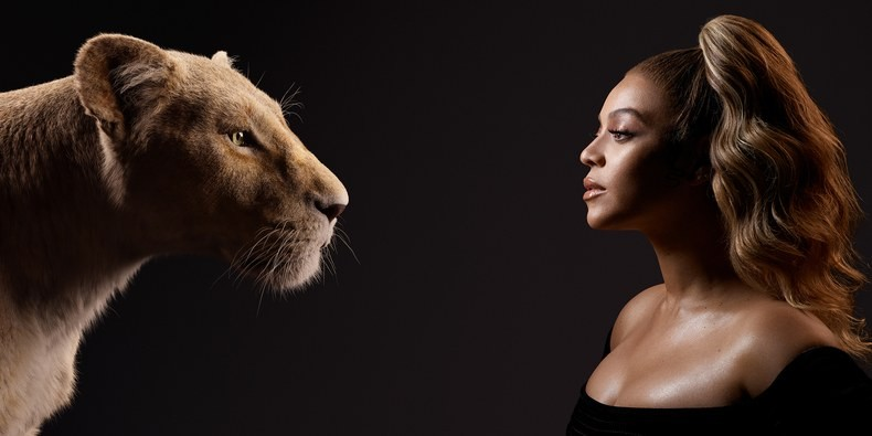 Beyonce stars in The Lion King