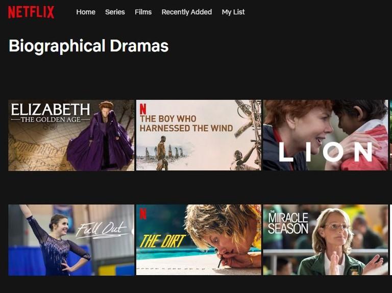 Netflix secret codes to unlock hidden categories for films