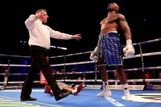 Boxing Dillian Whyte