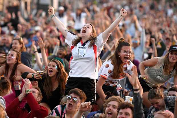 Glastonbury Festival 2019 England Lionesses