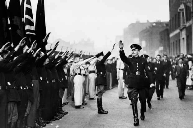 Oswald Mosley and the British Union of Fascists in 1936