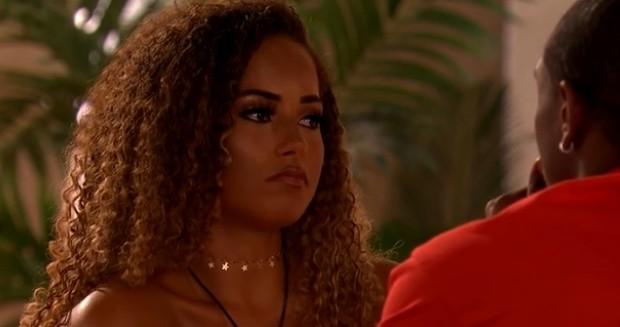 Love Island Amber (ITV screenshot)