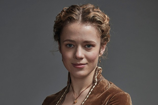 Lily Dodsworth-Evans plays Cecilly Hanson in Poldark