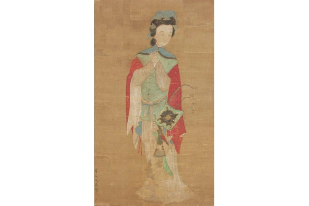 Painting of Hua Mulan, 18th century, housed in the British Museum
