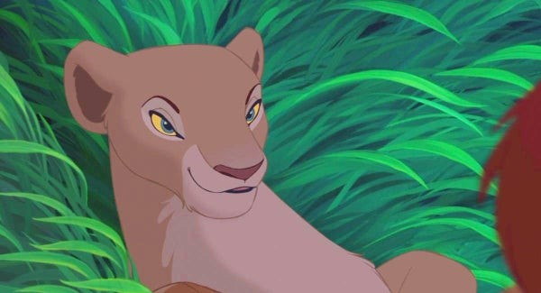 Nala's 'look' in The Lion King