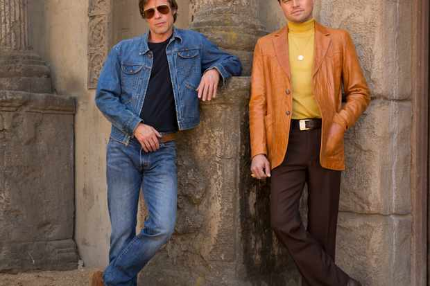 Brad Pitt and Leonardo DiCaprio star in Columbia Pictures Once Upon a Time in Hollywood