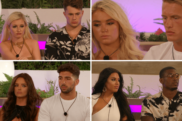 Love island couples