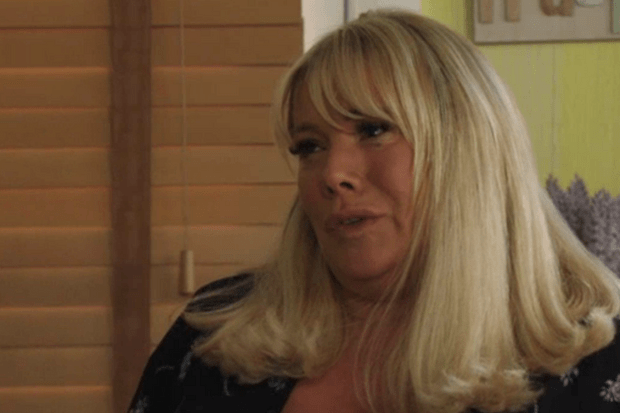 eastenders Sharon finds out Keanu is the dad