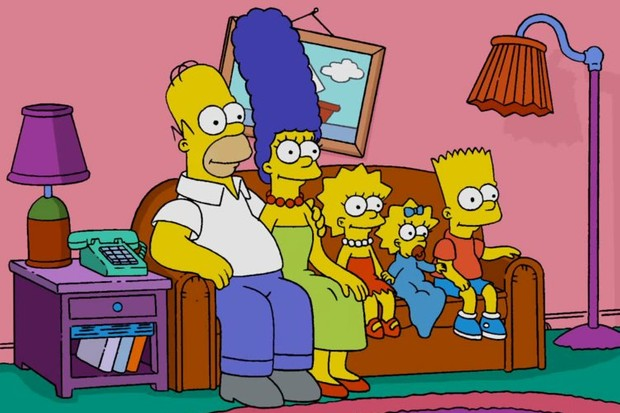 The Simpsons - couch 2