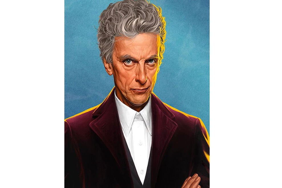 Doctor Who portraits