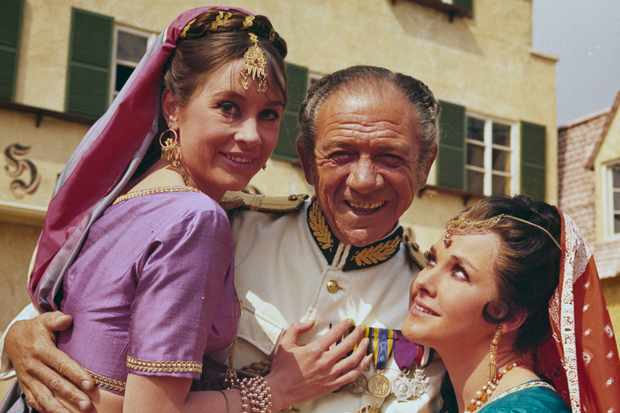 Sid James in Carry On films (Getty)