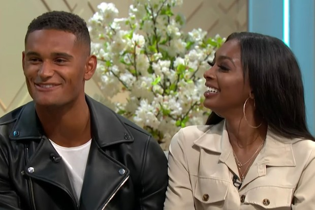 Danny and Jourdan (ITV)