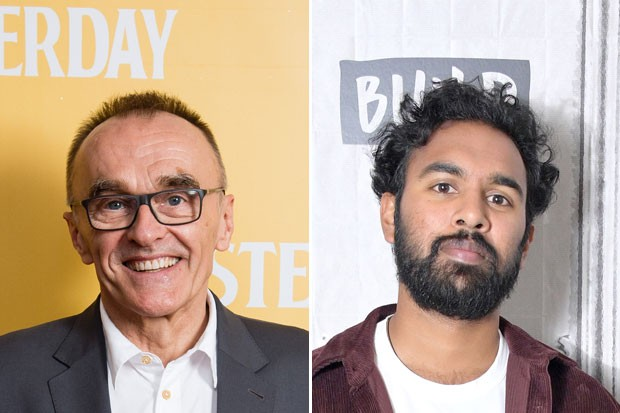 Danny Boyle and Himesh Patel, Getty Images