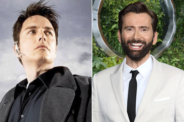 David Tennant and John Barrowman, Getty/BBC