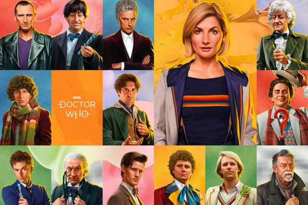 Dr Who Christmas Special 2019.Doctor Who Sdcc 2019 All 14 Doctors Star In These New