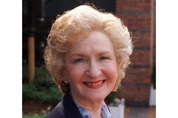 Coronation St: Emily Bishop (Eileen Derbyshire) 1996