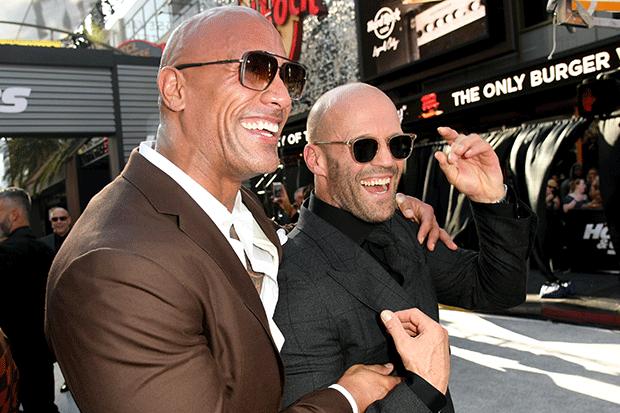 Hobbs and Shaw premiere, Getty