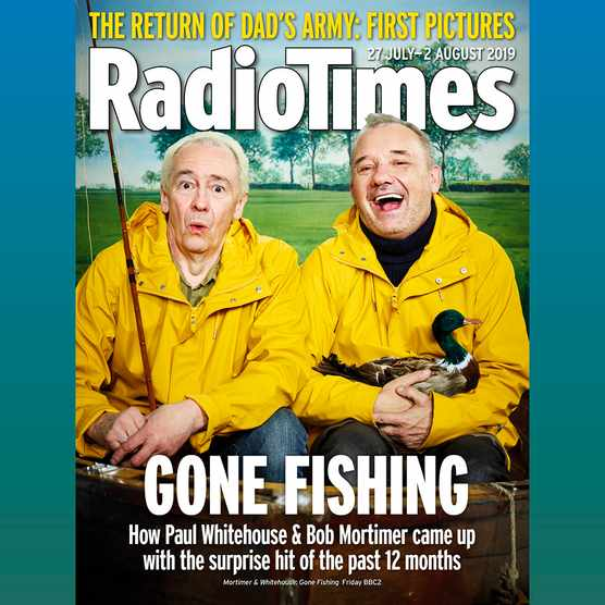 Radio Times Cover Gone Fishing